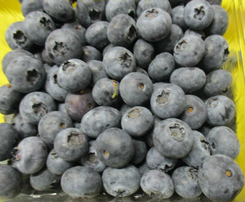 Still Available: Imported Blueberries